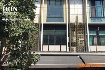 ขาย ทาวน์โฮม 3.5 ชั้น Loft 26 วา หมู่บ้าน ฟลอร่า วงศ์สว่าง  คุณเปิ้ล 094-495-2548