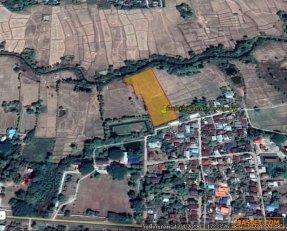 ขายที่ดินเปล่า หลังโรงเรียนบ้านถ่อน บ้านนาข่า อำเภอเมือง จังหวัดอุดรธานี  (นาข่า-บ้านดุง)