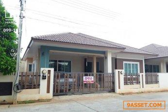 บ้านเดี่ยว 68 ตรว. 3 นอน 3 น้ำ   หน้าสโมสร   โดดเด่นด้วยทำเล และราคา  บนถนนสาย 304    มีดี   บ้านที่ดิน099-191-6262