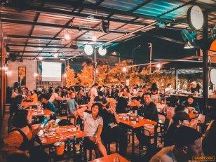 เซ้ง!! ร้านอาหารกึ่งบาร์เหล้า @ริมถนน พุทธมณฑลสาย 3