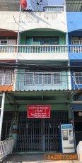 ขายอาคารพาณิชย์ 3 ชั้นครึ่ง หมู่บ้านศิริสุข 2