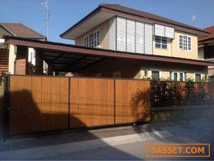 ขาย บ้านเดี่ยว 2 ชั้น เนี้อที่ 56 ตารางวา หมู่บ้าน ชลดา บางบัวทอง นนทบุรี