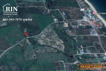 R005-015 ขายที่ดิน หาดนาใต้ พังงา  Sell Land Natai Beach Phang-Nga Province   คุณพล  063-393-7979