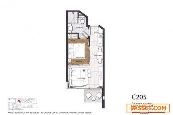 JPS62-010  ขายด่วน +++  คอนโดมิเนียมหรู The Pine Hua Hin  (New Room)  084-329-4964 คุณเอ