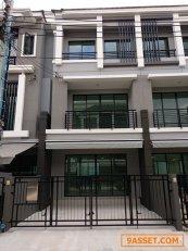ให้เช่าทาวน์เฮาส์ใหม่ บ้านกลางเมืองสุขสวัสดิ์ สอบถามขนาดและราคาบ้านโทร 081 354 0901