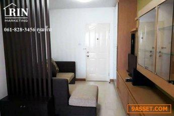 [ ขาย ] คอนโด city home รัตนาธิเบศร์ 1นอน 41.94ตรม.ใกล้รถไฟฟ้า/ต้น 061-828-3456