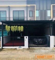ขายทาวน์โฮม 2 ชั้น @The Connect Pattanakarn 38 พร้อมอยู่