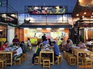 เซ้ง!! ร้านส้มตำ ใน ตลาดปากซอย @ปากซอยหทัยราษฎร์ ( ติดถนนใหญ่สุวินทวงศ์ )