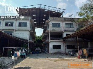 R029-020 ขายถูก ด่วน!  ที่ดินพร้อมสิ่งปลูกสร้าง ( โรงงานผลิตถังดับเพลิงเก่า )  เป็นอาคาร  3  ชั้น 2 หลัง  ขนาดที่ดิน 2-0-15  ไร่
