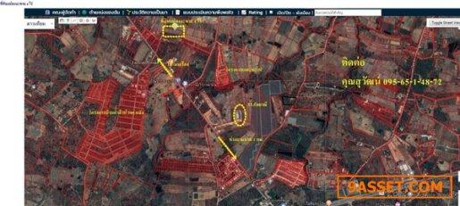 R070 - 0017 - ขายที่ดินเปล่า 4 ไร่  ต. บ้านค้อ  อ. เมืองขอนแก่น จ. ขอนแก่น ห่างบายพาส 1 กม.