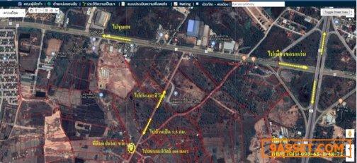 R070 - 0018 - ขายที่ดินเปล่า 1 งาน 12 ตรว.  ต. บ้านเป็ด  อ. เมืองขอนแก่น จ. ขอนแก่น ห่างบายพาส 1 กม.