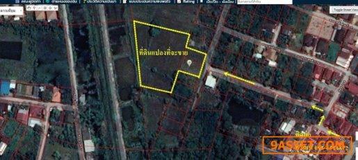R070 - 0025 - ขายที่ดิน  4 ไร่ 2 งาน 69 ตารางวา ต.ศิลา อ. เมืองขอนแก่น จ. ขอนแก่น