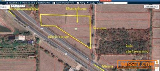 R070 - 0028 - ขายที่ดิน  5 ไร่ 1 งาน 11.8 ตารางวา  ติดทางเลี่ยงเมืองระหว่างถนนมิตรภาพ-เชียงยืน 095-65-1-48-72 สุวัฒน์