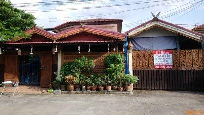 ขายบ้านเดี่ยว 2 ชั้น หมู่บ้านอู่ทองเพลส 2 ปทุมธานี