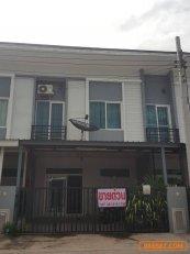 ขายถูก!!! บ้านโครงการ กัสโต้ พหลโยธิน-สายไหม (Gusto) ทาวน์โฮมสไตล์โมเดิร์น 2 ชั้น