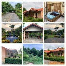 ขายบ้านเดี่ยวกาญจนบุรี บ้านพร้อมที่ดิน 3 งาน 25 ตรว. 3 ห้องนอน, 3 ห้องน้ำ