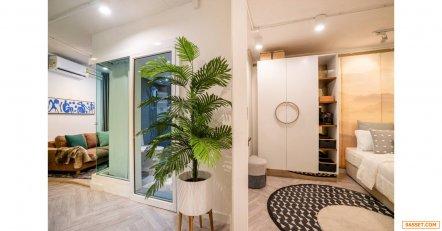 ขายห้องคอนโด 2 ห้องนอน กลางนิมมาน ซอย 12 (ถนนใหญ่2เลนกว่า ซอย โรงแรม 5 ดาว Kantary hill) เชียงใหม่