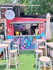 เซ้ง!! ร้านเครื่องดื่ม-ขนมปัง-หมูปิ้ง หน้าฟิตเนสเปิด 24 ชม @ในซอยรัชดา 7 ( แขวง เขต ดินแดง )