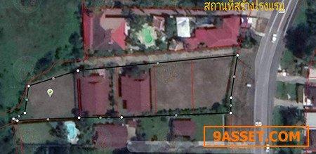 ขายที่ดิน 2 ไร่ 89 ตร.วา ขายพร้อมสิ่งปลูกสร้าง บ้าน 2 หลัง เจ้าของขายเองค่ะ
