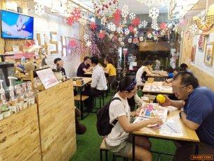 เซ้ง!! ร้านบิงซู กาแฟ ,เครปเย็น ติดถนนใหญ่ @หลังเขตดอนเมือง