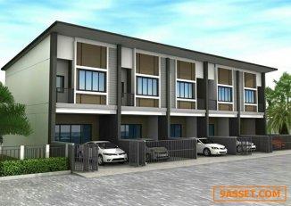 บ้านทาวน์โฮม Capital city ธัญบุรี คลอง 8 เจน 099-224-6329