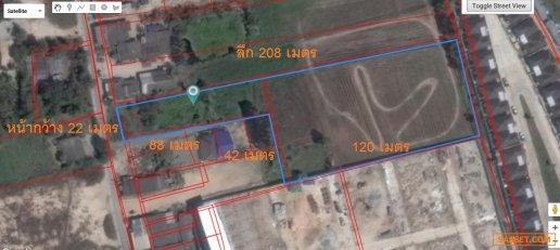 ที่ดินแปลงนี้สามารถทำทาวน์โฮมได้ 52 หลัง!!! ขายที่ดิน อ.พานทอง เหมาะทำโครงการจัดสรร 6 ไร่เศษ ถ.เทศบาล 17 ราคาพิเศษด่วน