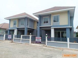 ขายบ้านแฝดสไตล์บ้านเดี่ยว 2 ชั้น บ้านสวนกษิรา ชลบุรี