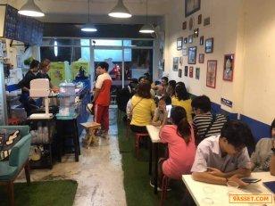 ร่วมทุน 50 เปอร์เซ้นต์!! ร้านนม บิงซู ขนมปัง โทส @ถนนประชาสงเคราะห์ แขวงดินแดง กทม