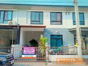 ขายบ้าน ทาวน์เฮ้าส์  หมู่บ้านไอวี่ทาวน์ 1 จังหวัดชลบุรี