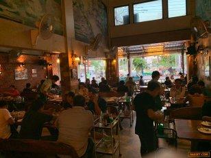 เซ้ง!! ร้านอาหารอีสาน เปิดมากว่า 20 ปี @ถ.เพชรพระราม โรงปูนพระราม9 ( บางกะปิ )