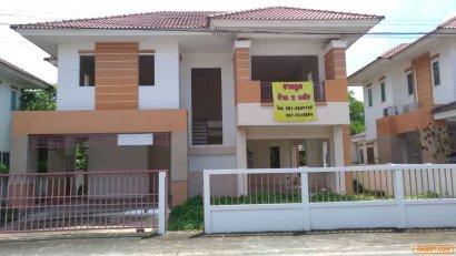 ขายบ้านเดี่ยว 50 ตารางวา  บ้านใหม่ไม่เคยเข้าอาศัย