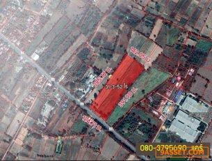 R-101-003 ขายด่วน ที่ดินโกสุมพิสัย จ.มหาสารคาม  (31-3-52 ไร่) 080-3795690  แคร์
