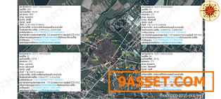 ขายที่ดิน28ไร่83ตารางวา จ.ชลบุรี อ.เมืองชลบุรีและบ้านบึง ต.หนองซาก เส้น3059