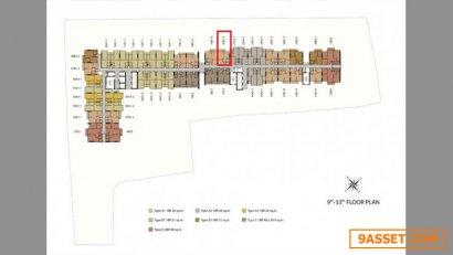 ขายก่อนโอนคอนโดนิช โมโน สุขุมวิท แบริ่ง 1 ห้องนอน 31 ตร.ม. ใกล้ BTS แบริ่ง