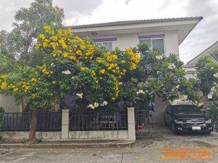 ขายบ้าน หมู่บ้านเพอร์เฟค พาร์ค บางบัวทอง 2 ชั้น หลังริม 40.1 ตร.ว. 3 ห้องนอน 2 ห้องน้ำ จ.นนทบุรี