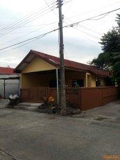 ขายบ้านทาวเฮ้าส์ชั้นเดียวหลังมุม พิกัด ถนนรังสิต-ธัญบุรี คลอง7 จังหวัดปทุมธานี