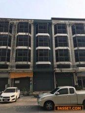 ขายด่วน ตึกแถว 4 ชั้นครึ่ง รามอินทรา กม8 ใกล้สินแพทย์ เหมาะทำร้านอาหาร สำนักงานได้