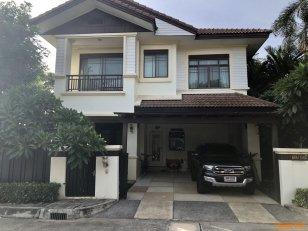 ขายบ้านเดี่ยวหลังใหญ่ หมู่บ้านเศรษฐสิริ ถนนเสรีไทย กรุงเทพฯ