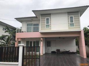 ขายบ้านเดี่ยว 2ชั้น โครงการ บ้านคุณาภัทร4 บางบัวทอง นนทบุรี