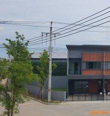 """ขายทาวน์โฮม 2 ชั้น """"SIRI PLACE สุขสวัสดิ์-พระราม 3""""บ้านแปลงมุมพร้อมสวนขนาดใหญ่ หน้าโครงการ"""