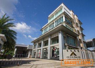 ขายด่วนอาคารสำนักงาน 6 ชั้นพร้อมโกดัง 2 ชั้น 4500 กว่าตรม. ทำเลดีซอยกรุงเทพกรีฑา8 กรุงเทพมหานคร