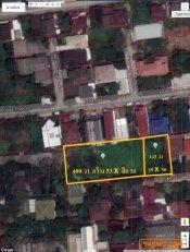 ขายที่ดิน 2 แปลงติดกัน 143 ตร.วา ซ.สตรีวิทยา 2 ซ.10 แยก 1/1 เข้าซอย 200 แขวงลาดพร้าว เขตบางกะปิ กทม.