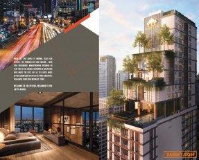 ขายคอนโด The Lofts Asoke พร้อมอยู่ ติดอโศกมนตรี 200 ม. จาก MRT เพชรบุรี 1 Bed 36 ตร.ม. เพดานสูง 3.2ม