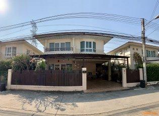 บ้านเดี่ยว 2 ชั้น 59.1 ตรว. หมู่บ้านศุภาลัยวิลล์ ศรีสมาน ปทุมธานี