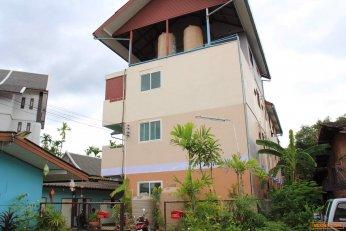 ขายที่ดิน 168 ตร.ว. พร้อมหอพัก3ชั้น 21 ห้อง  อำเภอเมือง จังหวัดเชียงใหม่