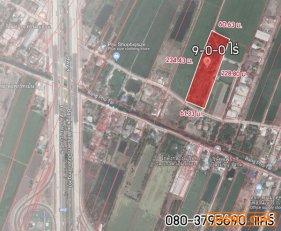R-101-004  ขายด่วน!!! ที่ดินทำเลทอง ปทุมธานี ราคากำลังพุ่ง  9-0-0ไร่ (3.9 ล้าน/ไร่)