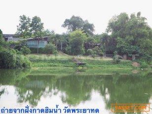 ขายบ้านเดี่ยว 2 ชั้น 500 ตร.ว สวนดอกไม้ เสาไห้ สระบุรี 18160 (ที่ดินงอกเพิ่มริมแม่น้ำทุกปี)