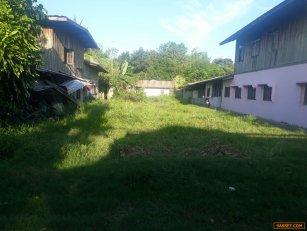 ขายที่ดินด่วน  ทำเลงาม  ใจกลางหมู่บ้าน  เนื้อที่ 91 ตร.วา  ที่สูง น้ำไม่ท่วม