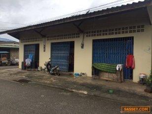 ขายที่ดินเปล่าและห้องแถวพร้อมให้เช่าใกล้โรงพยาบาลพระปกเกล้า จ.จันทบุรี