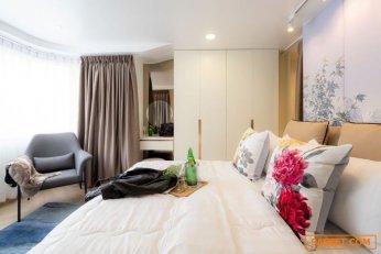ขาย ห้องคอนโด Luxury oriental art design 1ห้องนอน 1ห้อง kitchen & living area ติด ถนน นิมมาน Hillside condominium2 ชั้น4